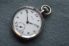 Weston Solid Silver 935 Pocket Watch