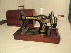 Sewing machine, Singer 28k, year 1916