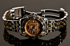 Breitling - Pilot Brown Gold/SS Captain Diamond - Lady's Timepiece