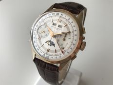 Record Watch Co / Longines Triple Date Moonphase Chrono - Men's Watch - 1950s