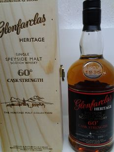 Glenfarclas Heritage Collection 60% Cask Strength