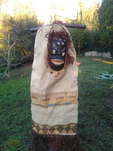 Ritual clothing with mask - Colombian Amazon