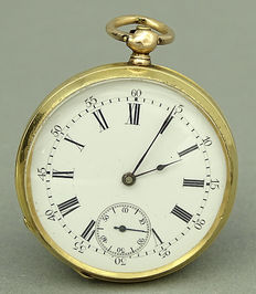 Jugendstil pocket watch