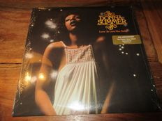 4 LP lot Soul/Funk Donna Summer - Shawn lee's ping pong orchestra - Robin Thicke  - Bruno Mars - Robert Flack