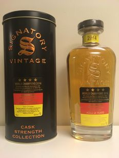 Longmorn 1990 Signatory Vintage Cask Strength Collection - Germany World Champion Soccer 2014 - 24 years old