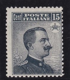 Kingdom of Italy, 1909 Sassone no. 86