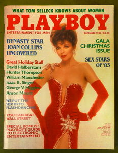 Playboy USA; Lot with 12 issues of Hugh Heffner's Playboy -1983