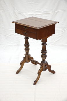 Antique sewing table - Mahogany - 20th century