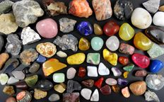 Batch of minerals and gems - 1.065 to 100 cm - 2,2 kg (43)