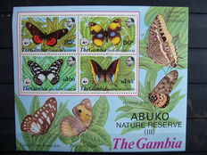 Butterfly Theme – Collection in 2 stock books