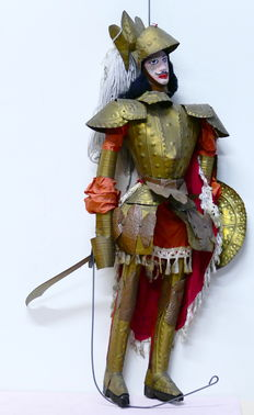 Pupo siciliano-Paladin with armor