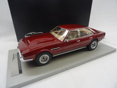 Tecnomodel - Scale 1/18 - Aston Martin Lagonda Saloon 1974 - Colour Red Metallic