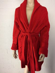 Gaastra - Stunning long cardigan made of lambswool with the tags still attached.