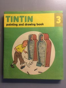 Hergé - Tintin - 12 x Painting and drawing book - Complete set - 12x sc - (1977)