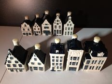 KLM Bols houses, 10 pieces