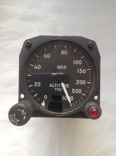 ALTIMETER from the USA, 1960s
