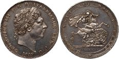 United Kingdom - Crown 1819 LIX George III - silver