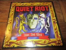 5 LP lot Hard rock / Metal Shinedown - Quiet Riot - Nordic metal - Midnight - Lord mantis