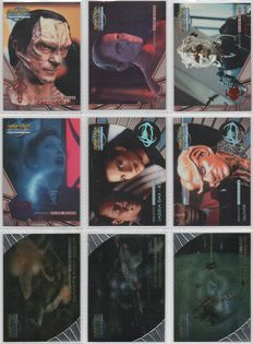Stargate, Star Trek, Star Wars and X-Files - 293 Chase and parallel cards - English