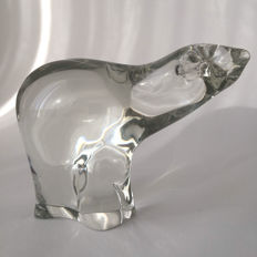 Barbini - Murano glass figure of a polar bear