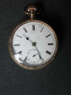 Star Watch case Co. Pocket watch – around 1900.