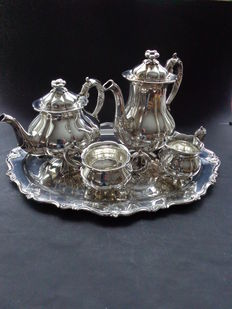 Tableware Silver plated Cohr Denmark EP-NS