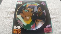 A great lot of 1 picture disc, 5 albums and 1 doublealbum by Michael Jackson and his brothers.