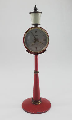 Lantern desk clock - Kaiser West Germany - 1950