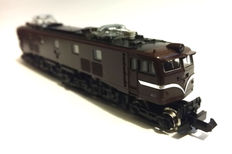 Tomix N - 2119 - electronic locomotive Class Ef58 from the JR, in Brown color