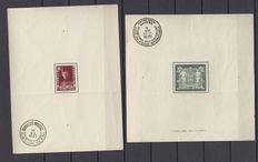 Belgium – composition of  Blocks OBP BL 2 and 3.