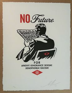 Shepard Fairey (OBEY) - No Future