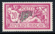 France 1925 - Merson 20f. lilac-pink - Yvert no. 208