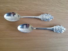 Rolex - set of two spoons