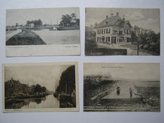 The Netherlands - Province of Drente - 40 cards - 1900-1960