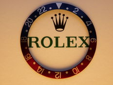 Rolex GMT-Master Pepsi bezels Inley Vintage 1675, 16750, unused, from old stock