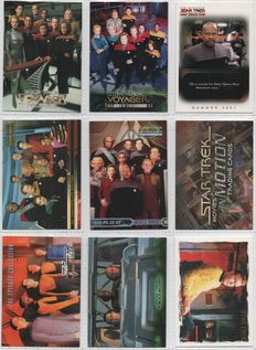 401 Promo and survey trading cards issued by various card companies.