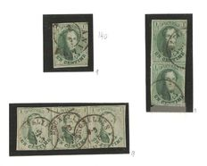 Belgium – Medallion OBP 9 in pair and strip of three