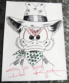 Rosa, Don - Original large format drawing- Uncle Scrooge