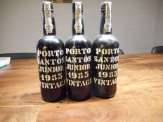 1985 Santos Junior Vintage Port  - 3 flessen van 75 cl
