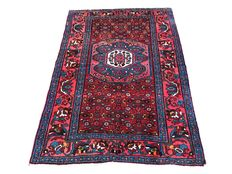 Fantastic Oriental carpet: Antique Bidjar 197 x 132 cm.