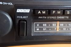 Classic Fiat Clarion car radio - cassette player - stereo - 1977