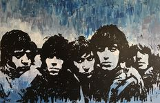 Gerke Rienks - The Rolling Stones, Satisfaction