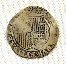 Spain - Catholic Monarchs (1474-1504) - 1 silver Real - Seville