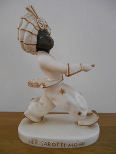 Rare advertising statue for Sarotti chocolate from 1920