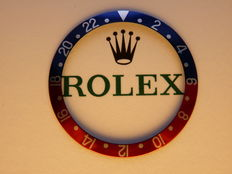 Rolex GMT-Master Pepsi bezels Inley vintage 16700, 16710, 16710 T unused from old stock