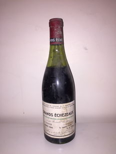 1980 Grands Echezeaux Grand Cru, Domaine de la Romanee Conti – 1 Bottle.