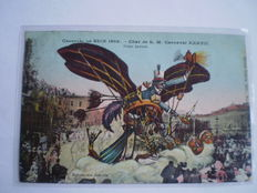 Vintage postcards from France 122x; scenes of towns and villages