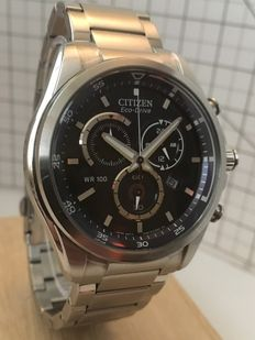 "Citizen ""Eco Drive Chronograph"" -- men's wristwatch -- 2016"