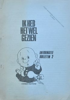 Kabouters; Informatiebulletins 1 to 8 - 1969 / 1970