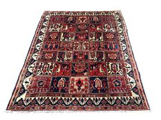 Exceptional handmade Persian rug Antique Bakhtiar 240x180 cm, from 1980!!